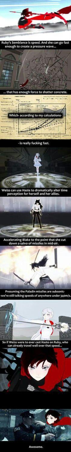 Blake, Ruby, Weiss