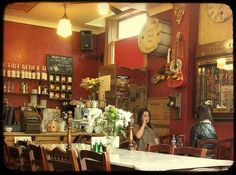 The Butterfly Cabinet cafe in Heaton. Their breakfasts are amazing.
