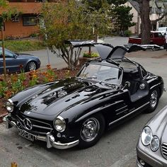 Classic Sports Cars, Fast Sports Cars, Bmw Classic Cars, Classic Mercedes, Nice Sports Cars, Mercedes Benz Autos, Mercedes Benz Cars, Old Mercedes, Cars Vintage