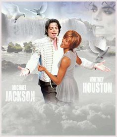 Whitney Houston and Michael Jackson, together in heaven and on Facebook: http://awe.sm/5fXY8