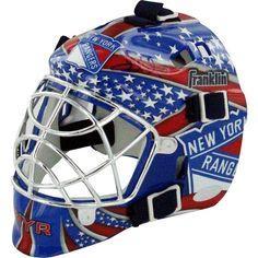 Steiner Sports Henrik Lundqvist New York Rangers Signed Mini Goalie Mask, Multicolor