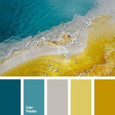бирюзовый цвет сочетание - Поиск в Google
