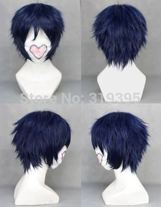 $13.99 (Buy here: https://alitems.com/g/1e8d114494ebda23ff8b16525dc3e8/?i=5&ulp=https%3A%2F%2Fwww.aliexpress.com%2Fitem%2FBlue-Exorcist-Rin-Okumura-Short-Dark-Blue-Cosplay-Wig%2F1883167535.html ) Blue Exorcist Rin Okumura Short Dark Blue Cosplay Wig Halloween Party Hair 212A for just $13.99