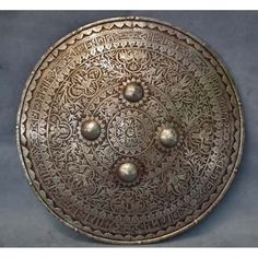 8th century Indo Persian Mughal shield https://www.google.com/blank.html