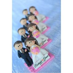Wedding Photo Holder Clay souvenir by Claylandshop Polymer Clay Miniatures, Polymer Clay Crafts, Clay Videos, Wedding Giveaways, Wedding Souvenir, Photo Holders, Clays, Air Dry Clay, Diy Home Crafts