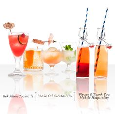 His & Her Cocktails #drink #recipe