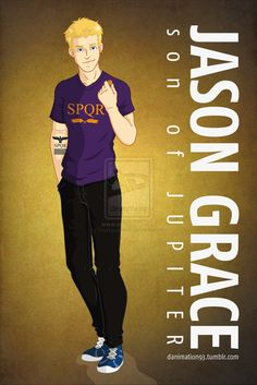 Jason Grace, Son of Jupiter by ~TheWandMaker on deviantART