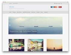 market WordPress theme FREE