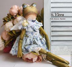 Купить Скоро лето Тильда Лягушка - тильда, кукла ручной работы, кукла Тильда