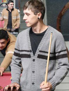 Men's cardigans knitting patterns free