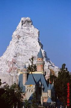 Disneyland - I can remember driving up I-5 trying to be the first to spot the Matterhorn, then we know we were close.