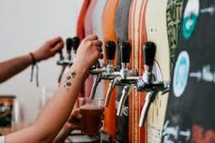 Vegan German beer garden, Hinterhof German Kitchen, is set to open in Los Angeles late summer in the Highland Park neighborhood. Bangers And Mash, Vodka Drinks, Alcoholic Drinks, German Kitchen, American Medical Association, Local Brewery, Medicine Journal, Vegan News, German Beer