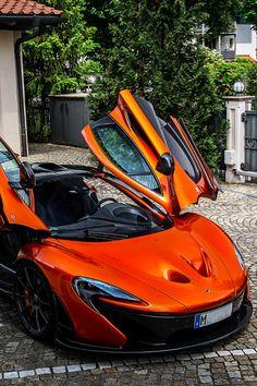 Orange McLaren P1