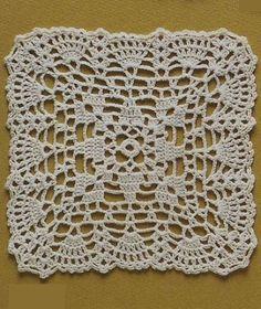 Crochet square motif                                                                                                                                                      More
