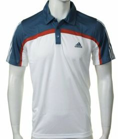 Adidas Mens Padel Traditional Tennis Polo Shirt Size L adidas. $24.73