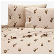 Browning Whitetails Sheet Set (Queen Size)