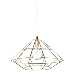 Network lamp, brass – Bloomingville #interior #design