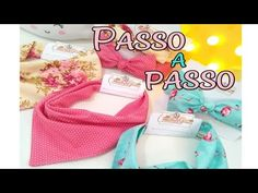 Babador Bandana em 2 minutos - Fácil e vendável #babador #bebê #passoapasso - YouTube Baby Art, Diy And Crafts, Patches, Pets, Body, Youtube, Crochet Baby Bibs, Baby Pillows, Crochet Baby Costumes