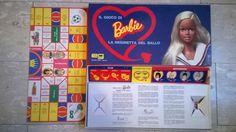 IL GIOCO DI BARBIE Reginetta del Ballo  Editrice Giochi 1975 #Barbie #giochiVintage