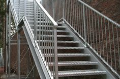 hot dipped stairs