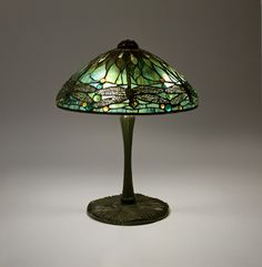 Tiffany Studios Dragonfly Table Lamp | From a unique collection of antique and modern table lamps at http://www.1stdibs.com/furniture/lighting/table-lamps/