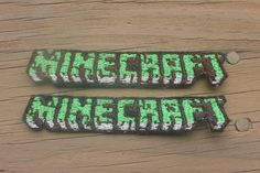 Minecraft Logo ironon patch by Emberfall0507 on Etsy, $3.50