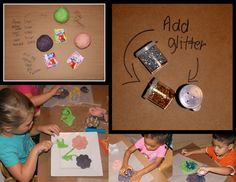 Making our own playdoh!!!! What a big hit! toddlertimetips.com For more pictures look on Face Book Fabulous ideas, projects and activities  Toddler Time Tips https://www.facebook.com/toddlertimetips