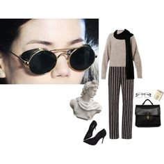 alis aspicio astra by unwriteable on Polyvore featuring polyvore, Isabel Marant, Balenciaga, Schutz, Coach, Romanelli, fashion, style and clothing