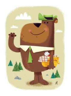 PLANET-PULP // CELEBRATING PULP CULTURE: Yogi Bear