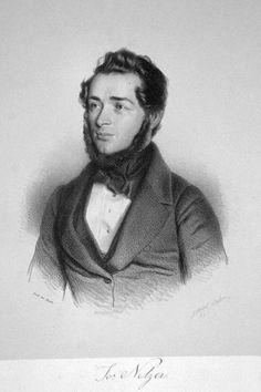 Josef Netzer (1808-1864), lithograph (1843), by Gabriel Decker (1821-1855).