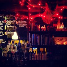 Red House is the best place to drink above average cocktails at below average prices.