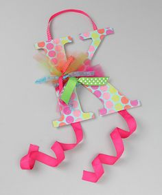 Super cute idea for displaying/organizing hair bows!