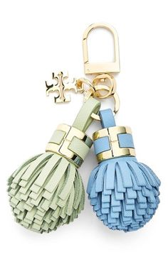 Tory Burch 'York' Tassel Key Chain available at #Nordstrom