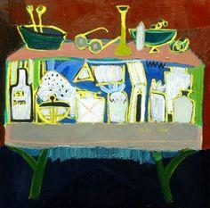 The Cupboard Where I'm Little by Trendafila Trendafilova, oil on canvas, 56 х 67…
