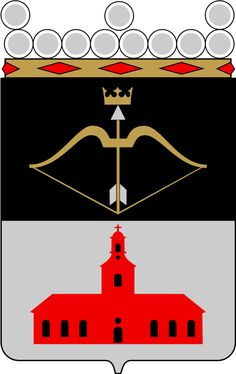 Municipality of Kuopio, Finland, Area Km²) City Logo, Crests, Coat Of Arms, Mythology, Nostalgia, Flags, Tattoo Ideas, Symbols, Finland
