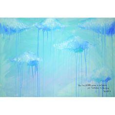詩篇36:5主よ。あなたの恵みは天にあり、 あなたの真実は雲にまで及びます。サイズ:M15(652×455mm)キャンパス、アクリル画※ 写真と絵...|ハンドメイド、手作り、手仕事品の通販・販売・購入ならCreema。