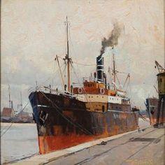 "Victor H.W. Qvistorff (Danish), ""Four Steamship Sceneries"""