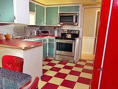 cozinhas retro - Pesquisa Google