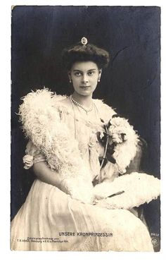 Postcard Crown Princess Cecilie of Prussia Real Photo 1906 | eBay