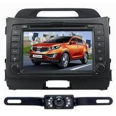 For KIA Sportage (Year 2010 2011 2012)Windows CE6.0 Operating System Bluetooth Ipod function Fm&Am Radio Stereo (Free Map) Rear Camera Infrared LED Digital Touch Screen DVD Player CD8974R by Tyso USA. $389.00. Specially designed Fits for KIA Sportage(Year 2010 2011 2012) Built-in GPS Navigation System(GPS map in the free 2G micro SD Card) Built-in bluetooth for hands free Built-in radio with 30 percent radio stations,support different radio area Dual Zone:you can li...