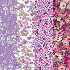 Lovely Selection of Purples Violets Fabric by Alicecarolinesupply, $8.75
