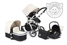 2012 BLACK & WHITE CARRERA SPORT 3-in-1 Baby Travel System/Pushchair/Pram 299GBP