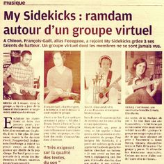 """About my band : in french, """"Buzz"""" = """"ramdam""""... - @nycoemotronics 