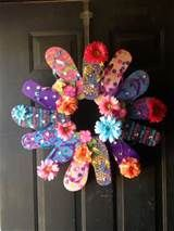 flip flop wreath - Yahoo Image Search Results