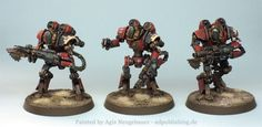 Agis Page of miniature painting and gaming - Adeptus Mechanicus
