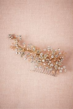 product | Blushing Bloom Comb from BHLDN #mwbridalstyle #bhldnbride