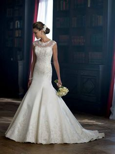 A stunning gown by Mon Cheri, being showcased in our boutique this week only.  www.happilyeverafterbridal.co.uk