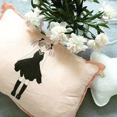 Cute girl cushions for little miss
