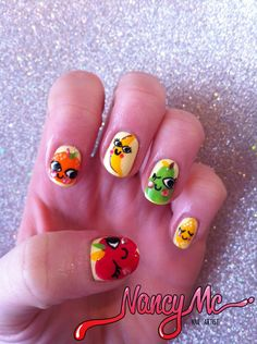 Not a HUGE fan of fruity nails but these are pretty cute!