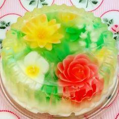 #FlowerJelly